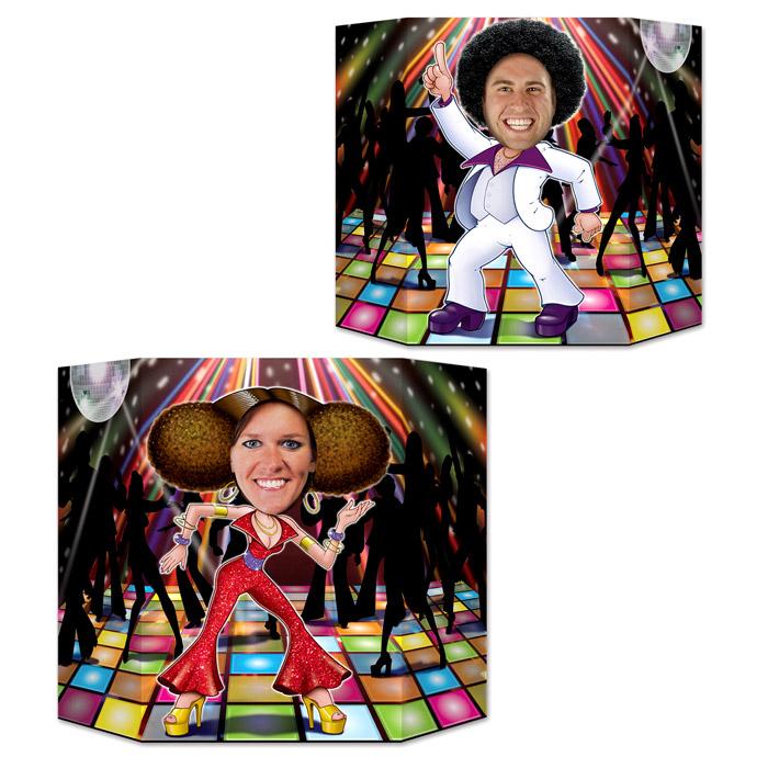 Photocall Doble Cara Fiesta Disco
