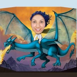 Photocall Dragón