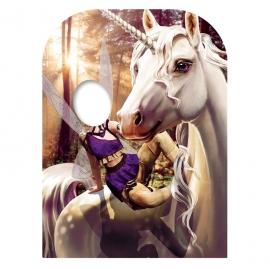 Photocall Infantil Hada y Unicornio 130cm