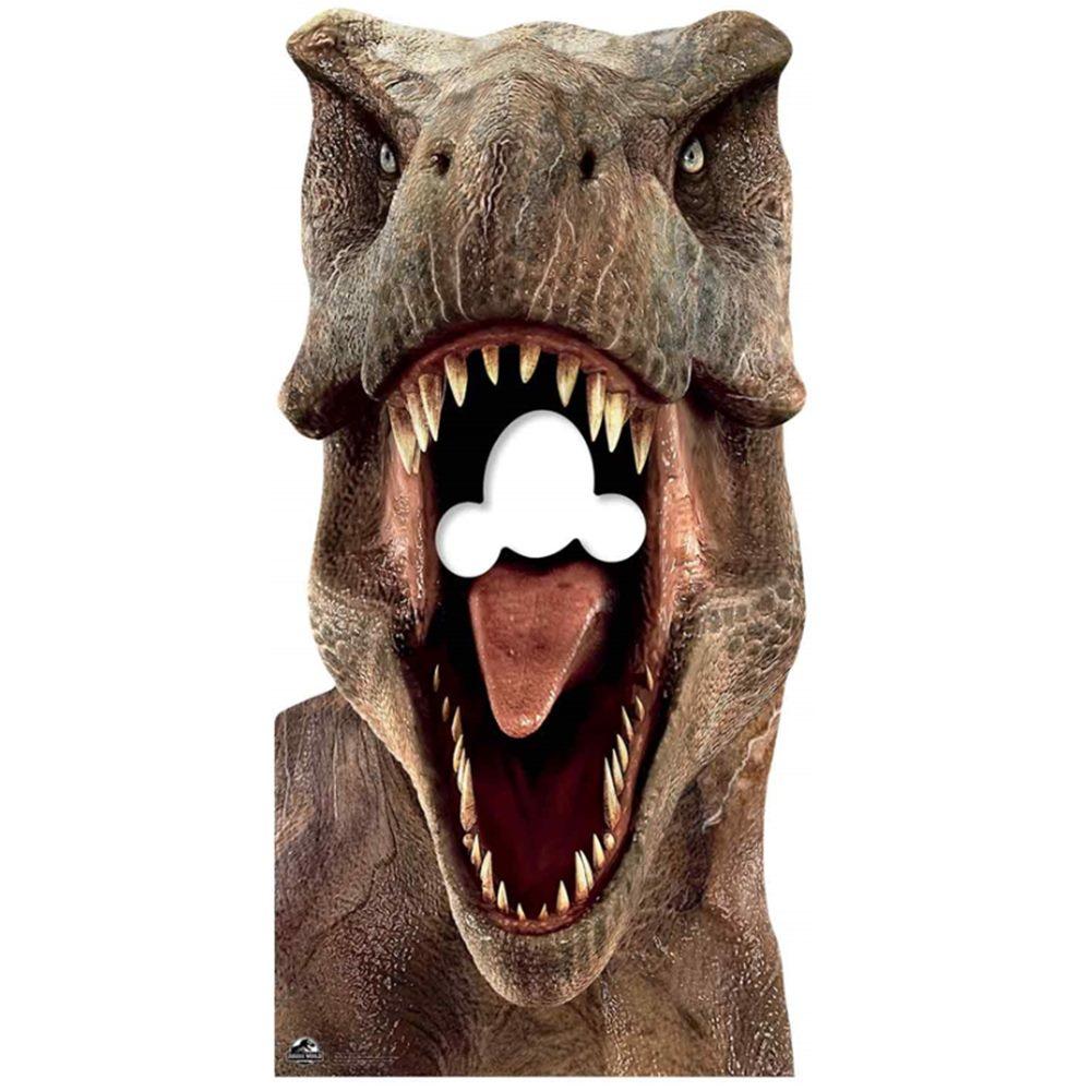 Photocall Jurassic World T-Rex 188 cm