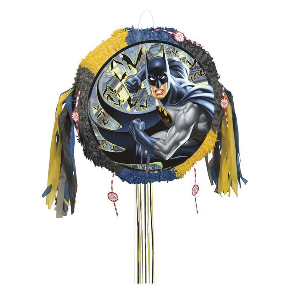 Piñata Batman Redonda 45 cm