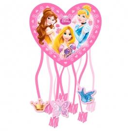 Piñata Corazón Princesas Disney 28 cm