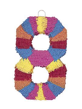 Piñata Nº 8 Multicolor 56 cm