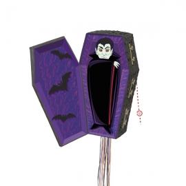 Piñata para Halloween Ataúd