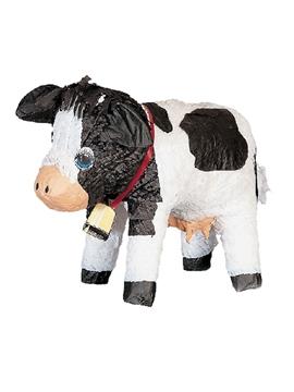 Piñata de Cartón Vaca 38 cm