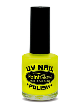 Pintura de Uñas Amarillo Neón UV