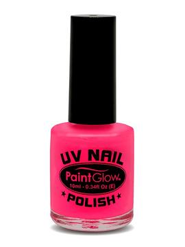 Pintura de Uñas Rosa Neon UV
