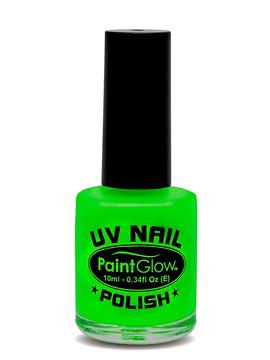 Pintura de Uñas Verde Neón UV
