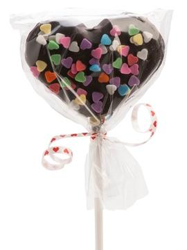 Piruleta Corazón Nube y Chocolate San Valentín