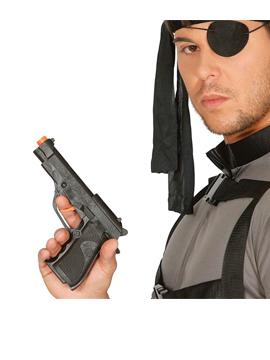 Pistola Negra 19 cm