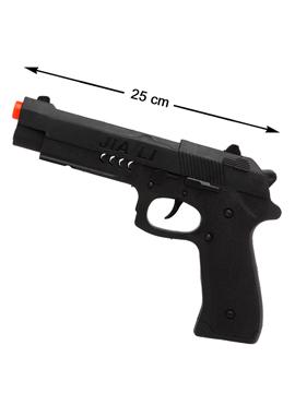 Pistola Negra 25 cm
