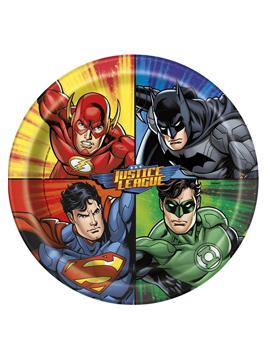 Platos de La Liga de la Justicia 22cm