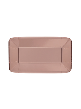 Bandeja para Dulces Oro Rosado 23 cm