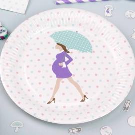 Platos Baby Shower 8 unidades
