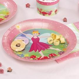 Juego de 8 Platos Fairy Princess
