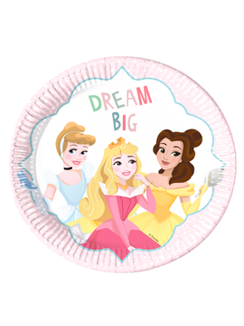 Platos Princesas Disney Dare to Dream 22cm