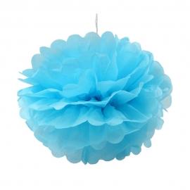 Pompón Color Azul 25 cm