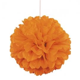 Pompón Naranja 40 cm