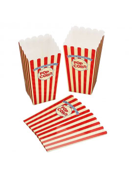 Pack 6 Cajas Palomitas Pop Corn