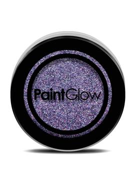 Purpurina Decorativa para Cara y Cuello Violeta