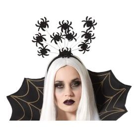 Diadema Halloween Arañas