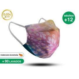 Mascarilla Reutilizable de Tela - Adulto Modelo 18