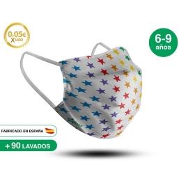 Mascarilla Reutilizable de Tela - Infantil Modelo 7