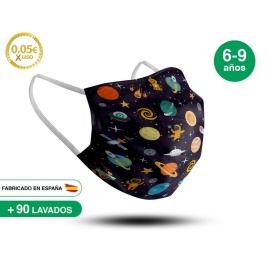 Mascarilla Reutilizable de Tela - Infantil Modelo 3