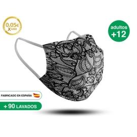 Mascarilla Reutilizable de Tela - Adulto Modelo 30