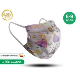 Mascarilla Reutilizable de Tela - Infantil Modelo 5