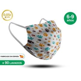 Mascarilla Reutilizable de Tela - Infantil Modelo 4