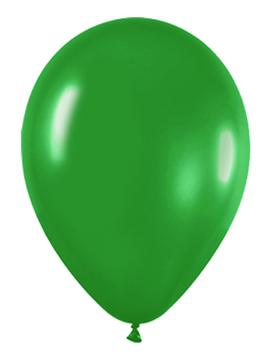 Pack de 50 globos verde selva