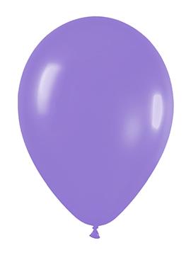 Pack de 50 globos lila mate