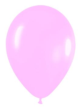 Pack de 50 globos de látex rosa pastel