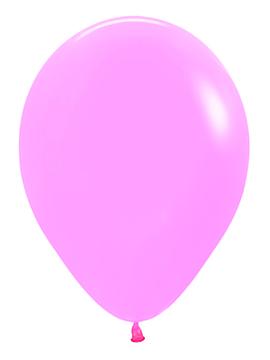 Pack de 10 globos rosa neón