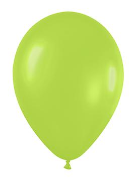 Pack de 50 globos verde neón