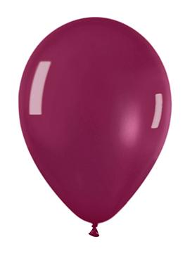 Pack de 10 globos cristal vino tinto