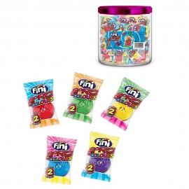 Regaliz Spiro Colours en envase Individual 100 Unidades
