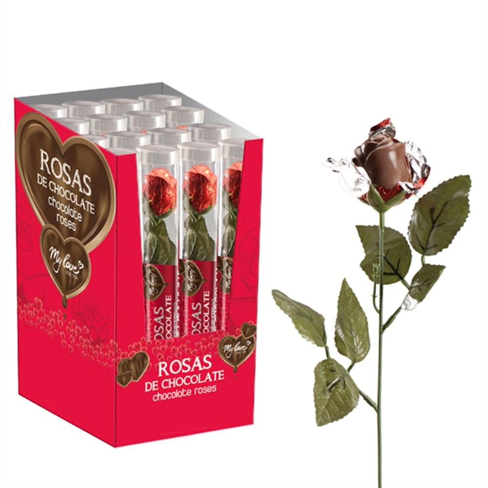 Rosa de Chocolate 20 gr