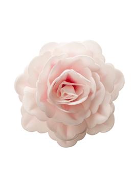 Rosa Gigante de Oblea de Color Rosa 12,5 cm