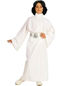 Disfraz Princesa Leia Star Wars Deluxe Infantil