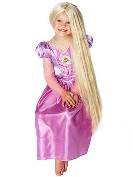 Peluca Rapunzel Fosforescente Infantil
