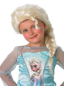 Peluca Elsa Frozen Infatil
