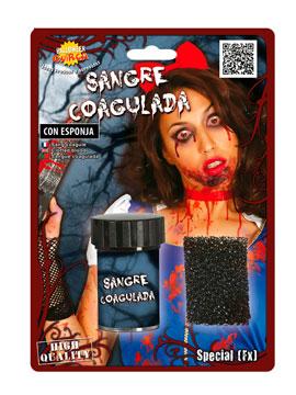 Sangre Coagulada con Esponja 15 gr