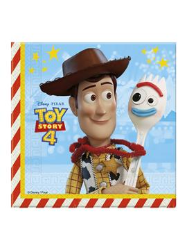 Juego de 20 Servilletas Toy Story Disney