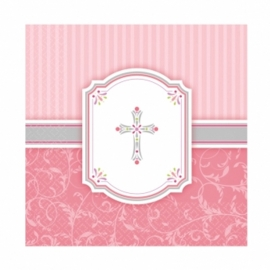 Servilletas de Comunión rosas
