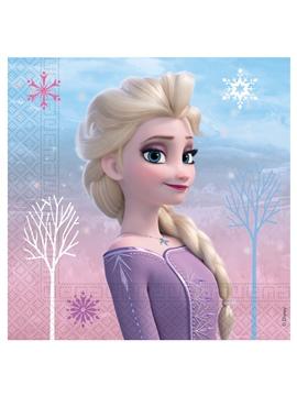 Juego de 20 Servilletas Frozen 2 Elsa y Anna