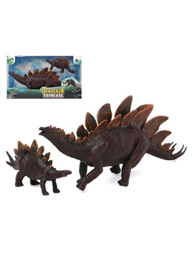 Set 2 Dinosaurios Madre y Cría