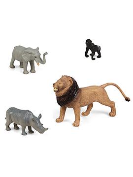 Set 4 Figuras para Tartas Animales de la Selva