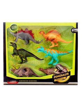 Set 6 Dinosaurios Modelo B